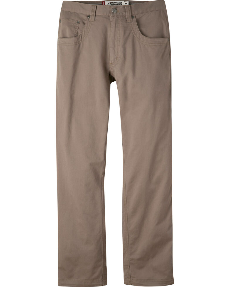 Mountain Khakis Men's Light Brown Camber Slim Commuter Pants , Light Brown, hi-res