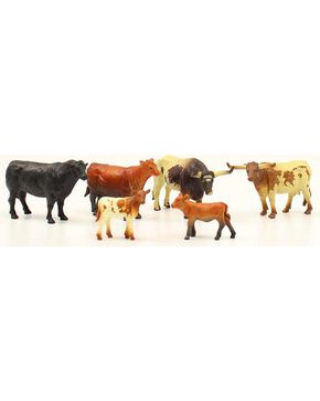 Kids' Toy Cow Figures - Set of 6, Assorted, hi-res