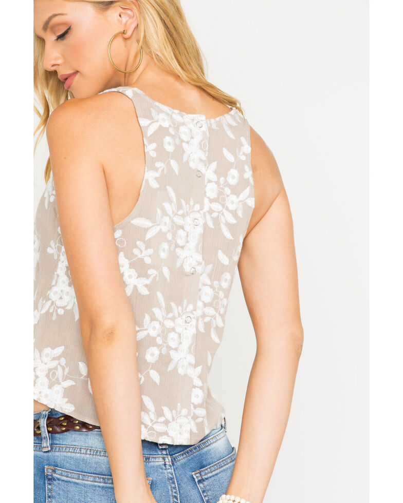 Sage the Label Women's Reef Tank , Taupe, hi-res