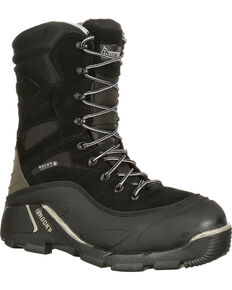 8322c2549cdd1b Rocky Men's BlizzardStalker Pro Waterproof Insulated Hunting Boots - Round  Toe
