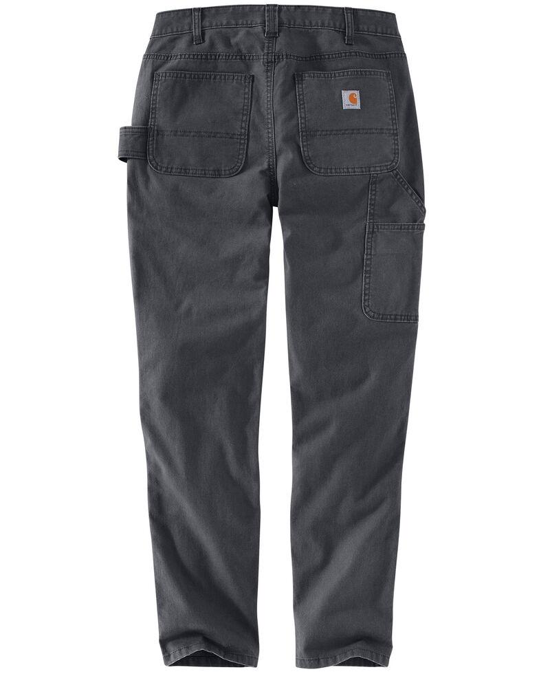 Carhartt Women's Slim-Fit Crawford Double-Front Pants , Dark Grey, hi-res