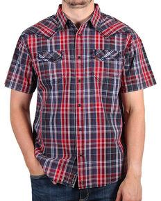 Moonshine Spirit® Men's Late Night Short Sleeve Shirt, Navy, hi-res