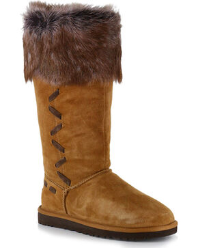 UGG® Women's Rosana Casual Boots, Brown, hi-res
