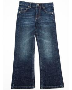 Wrangler 20X Boys' No.42 Hampton Dark Vintage Boot Jeans , Blue, hi-res