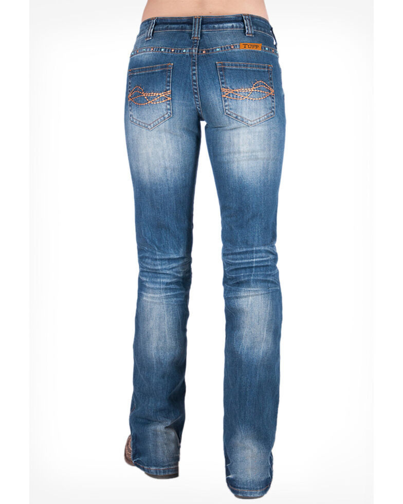 Cowgirl Tuff Women's Patina Jeans, Blue, hi-res