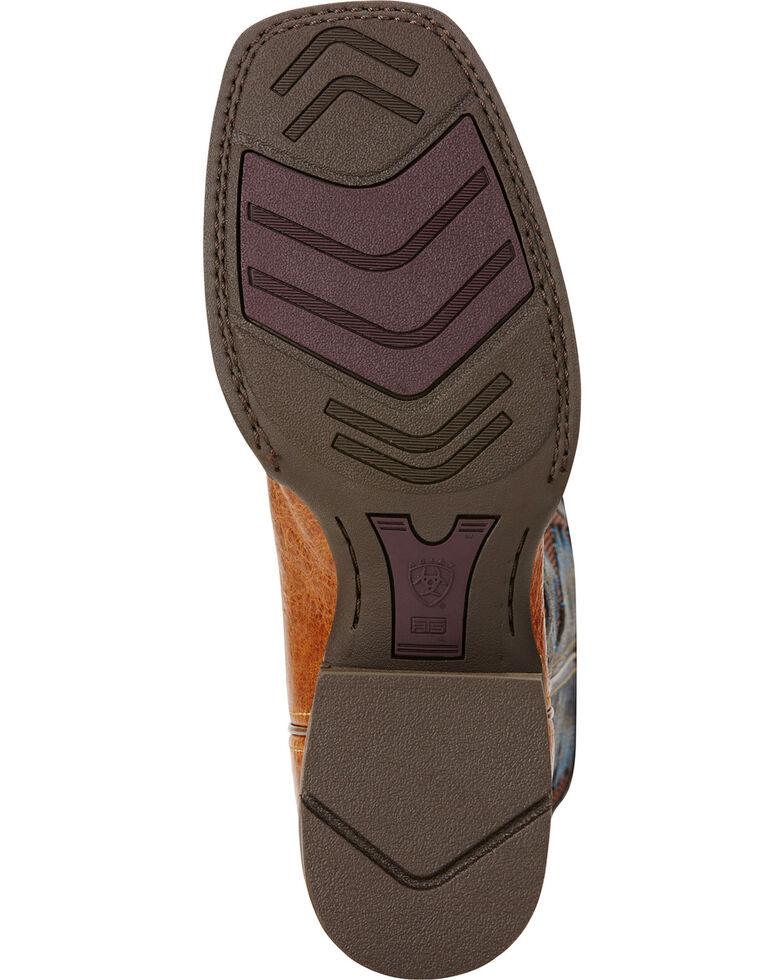 Ariat Men's VentTEK Quickdraw Square Toe Western Work Boots, Tan, hi-res