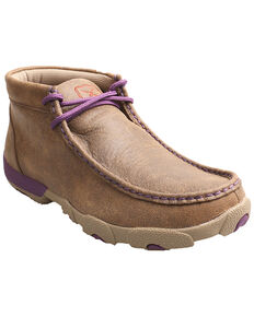 Twisted X Women's Xtreme Comfort Driving Mocs, Bomber, hi-res