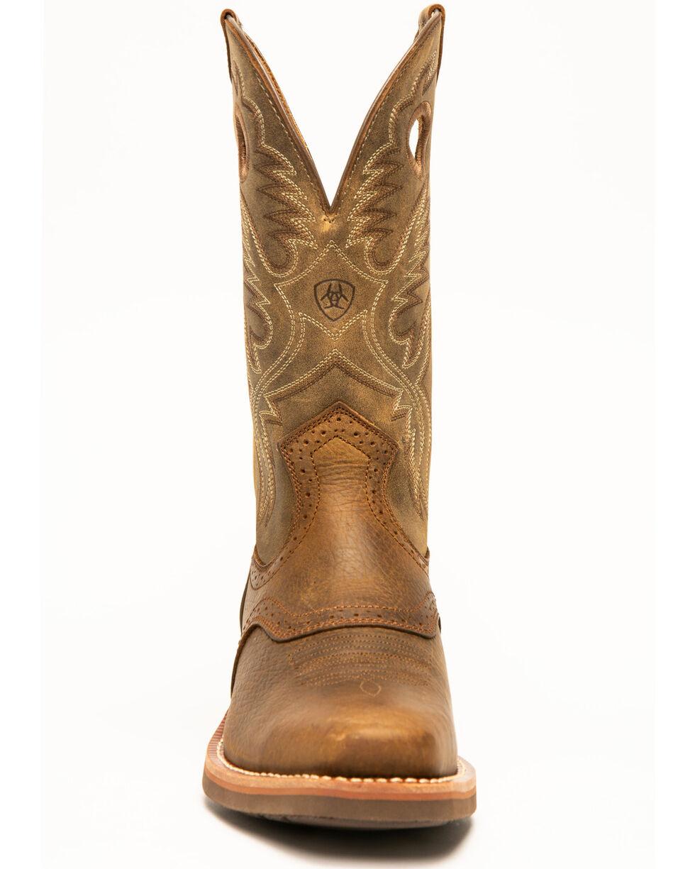 Ariat Men's Roughstock Heritage Western Boots, Earth, hi-res