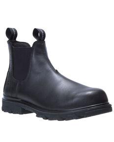 Wolverine Men's I-90 EPX Romeo Work Boots - Soft Toe, Black, hi-res