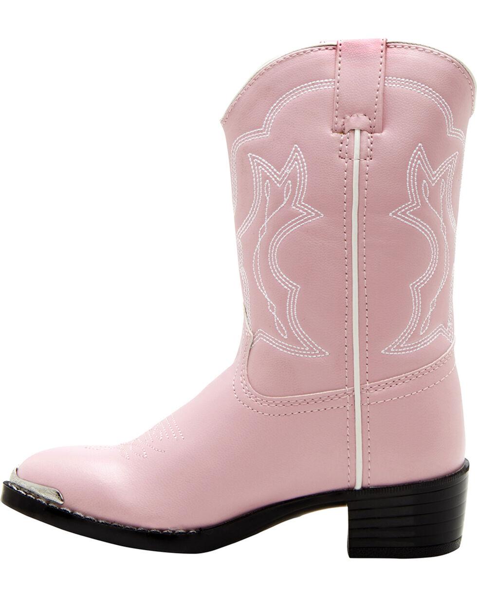 Durango Children's Western Boots, Pink, hi-res