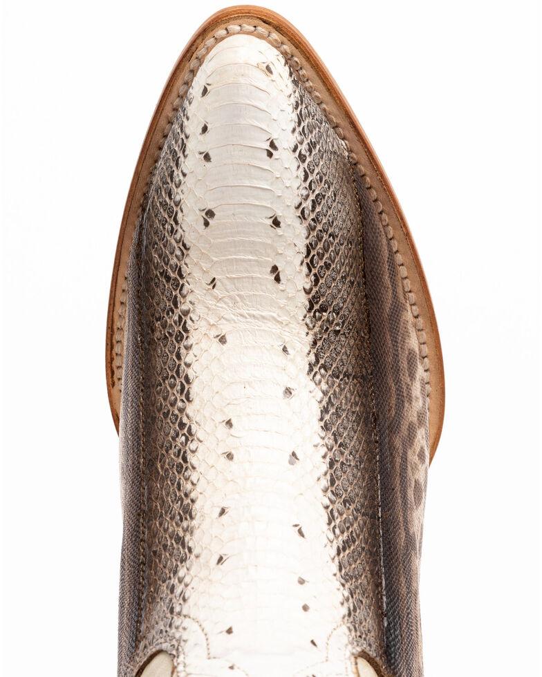 Dan Post Women's Bone Water Snake Western Boots - Snip Toe, Ivory, hi-res