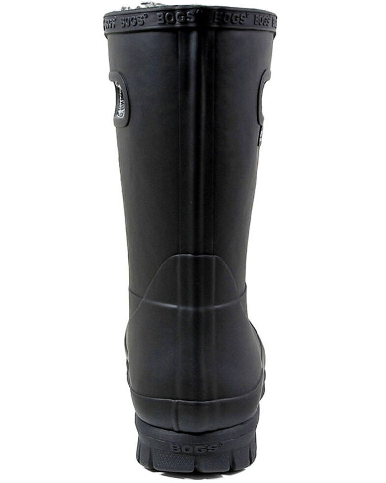 Bogs Women's Amanda Plush Insulated Work Boots - Round Toe, Black, hi-res