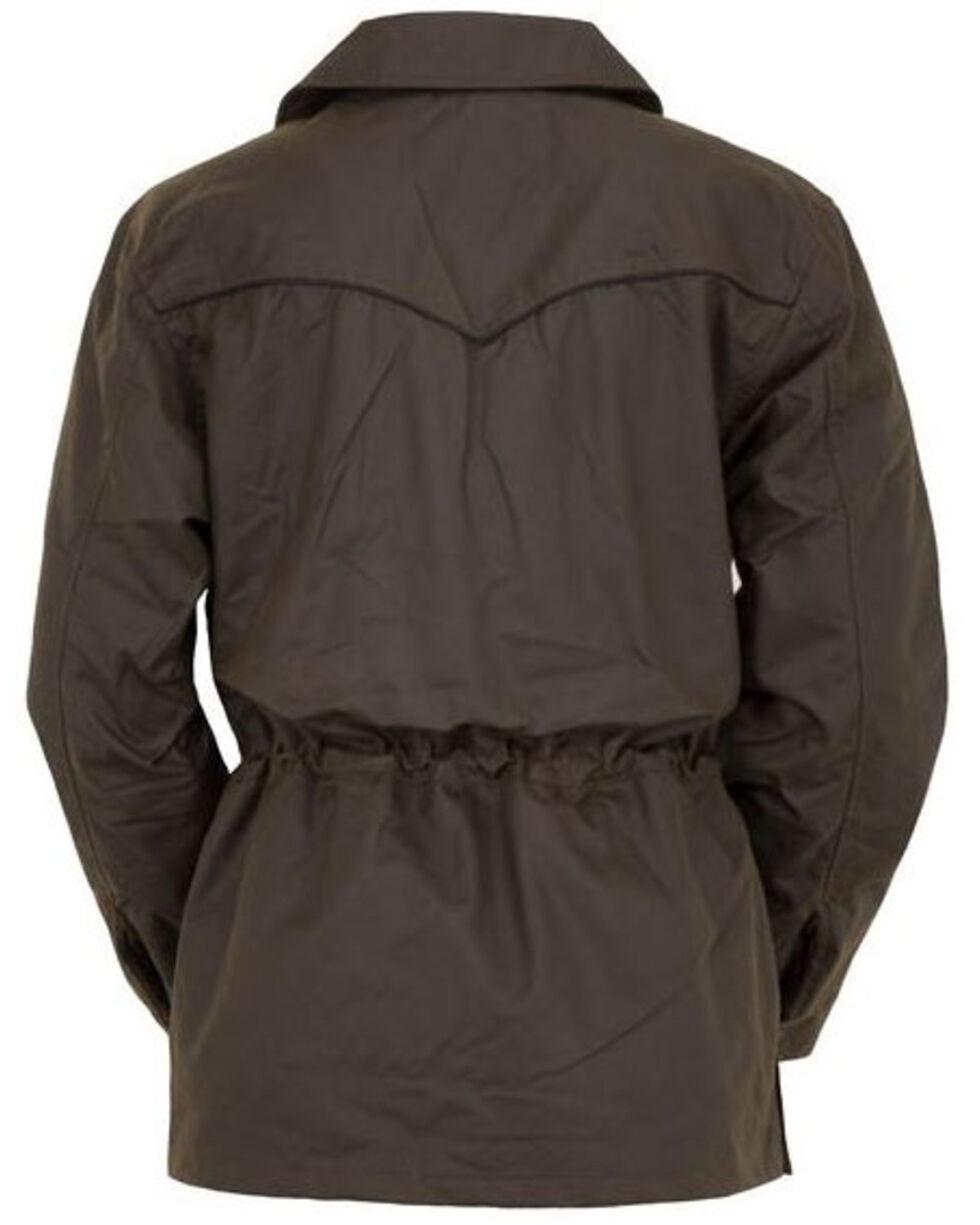 Outback Trading Co. Women's Bronze Oilskin Rancher Jacket, Brown, hi-res