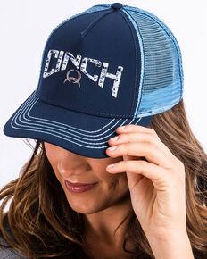 3c3b2007b79 Cinch Womens Navy 3D Logo Splatter Print Trucker Cap