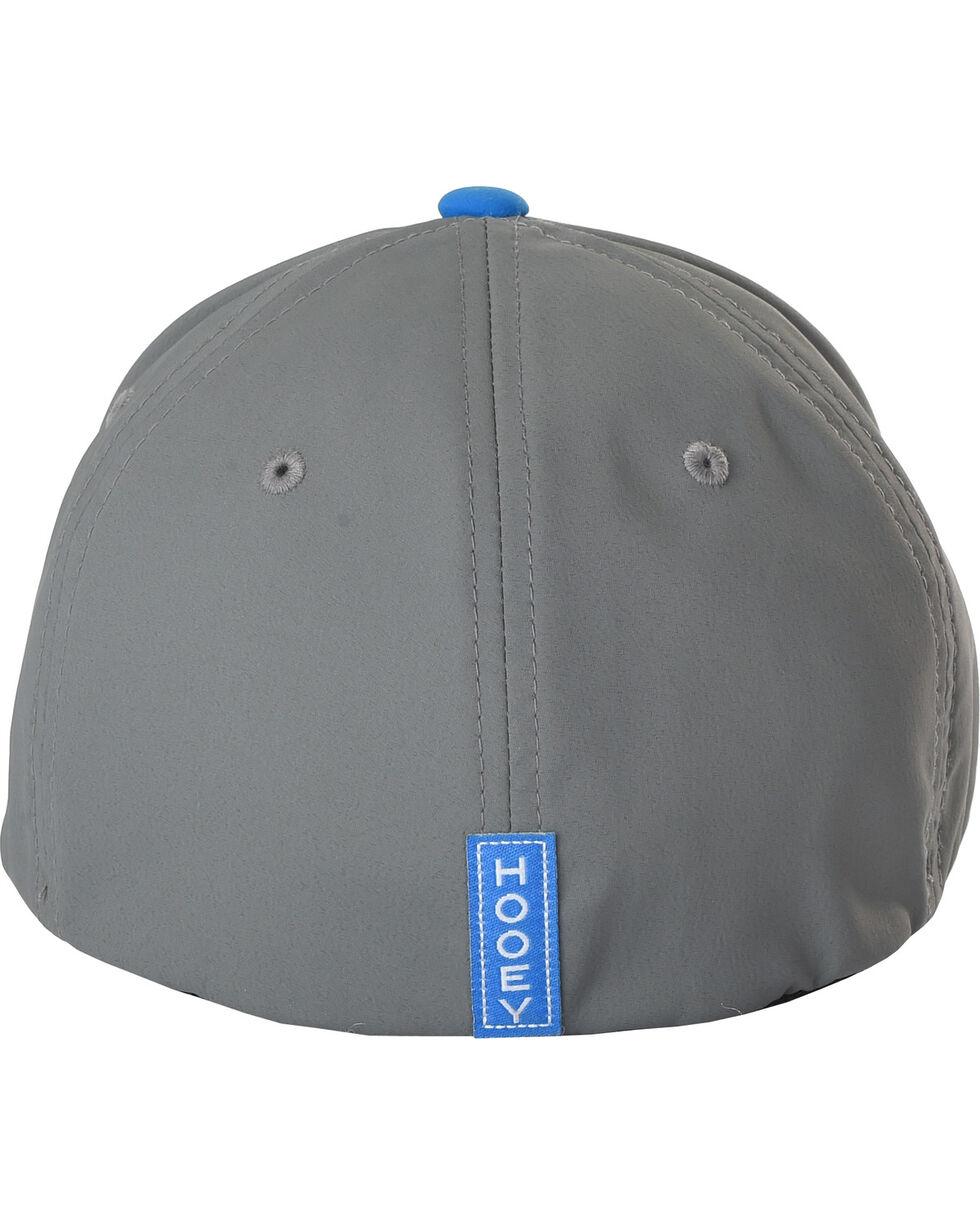 HOOey Men's Solo III Flexfit Cap, Blue, hi-res