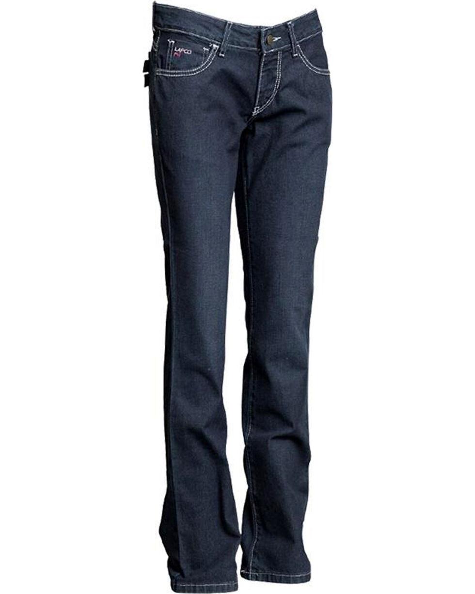 Lapco Women's Flame Resistant Jeans - Straight Leg, Blue, hi-res