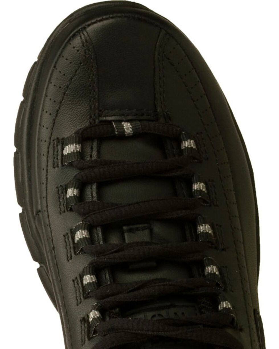 Skechers Women's Black Sure Track Trickel Slip Resistant Work Shoes , Black, hi-res