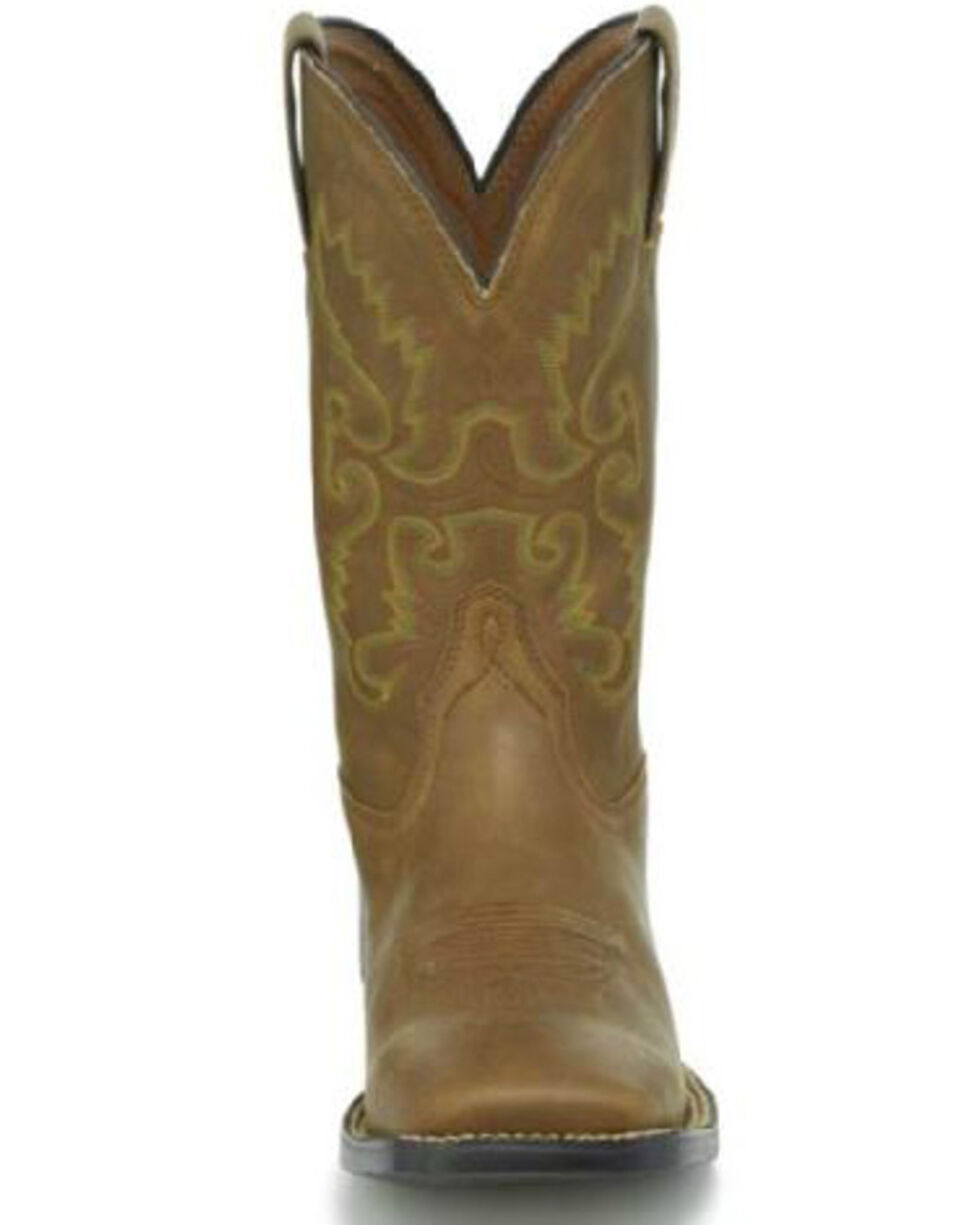 Justin Men's Hinton Bay Western Boots, Brown, hi-res