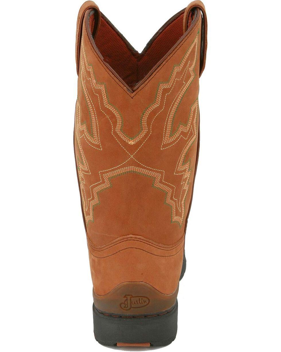 George Strait by Justin Men's 3.1 Series Waterproof Western Boots, Coffee, hi-res