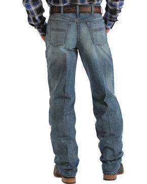 Cinch Men's Black Label 2.0 Stonewash Jeans, Med Stone, hi-res