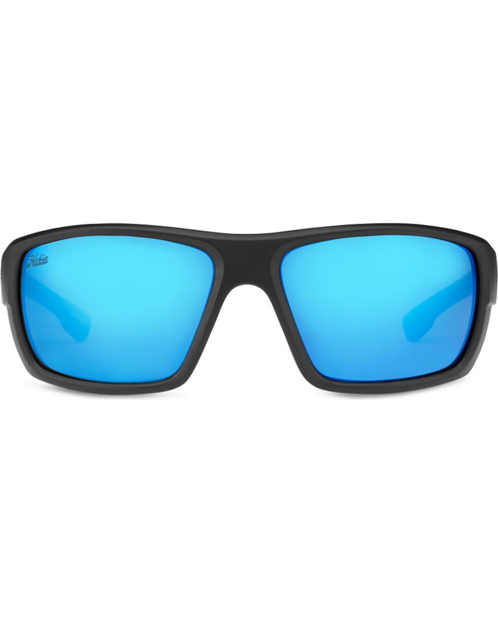 Hobie Men's Cobalt Mirror and Satin Black Mojo Polarized Sunglasses , Black, hi-res