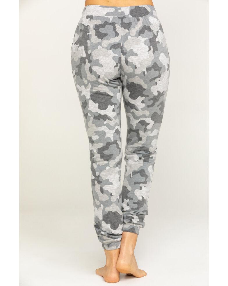Idyllwind Women's Cozytown Camo Sweatpants, Grey, hi-res