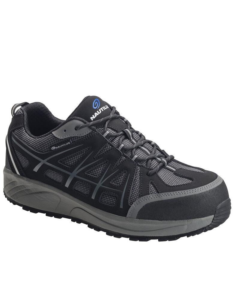 Nautilus Men's Surge Athletic Work Shoes - Composite Toe, Black, hi-res