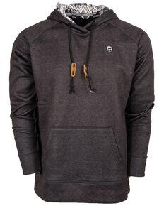 STS Ranchwear Men's Dark Grey Tuscon Hooded Sweatshirt , Dark Grey, hi-res