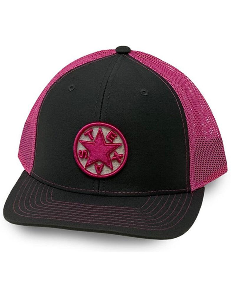 Oil Field Hats Men's Grey Texas Star Patch Mesh-Back Ball Cap , Grey, hi-res