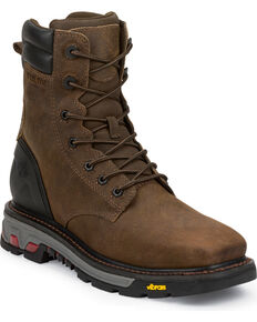 Justin Men's Commander X5 Work Boots, Timber, hi-res