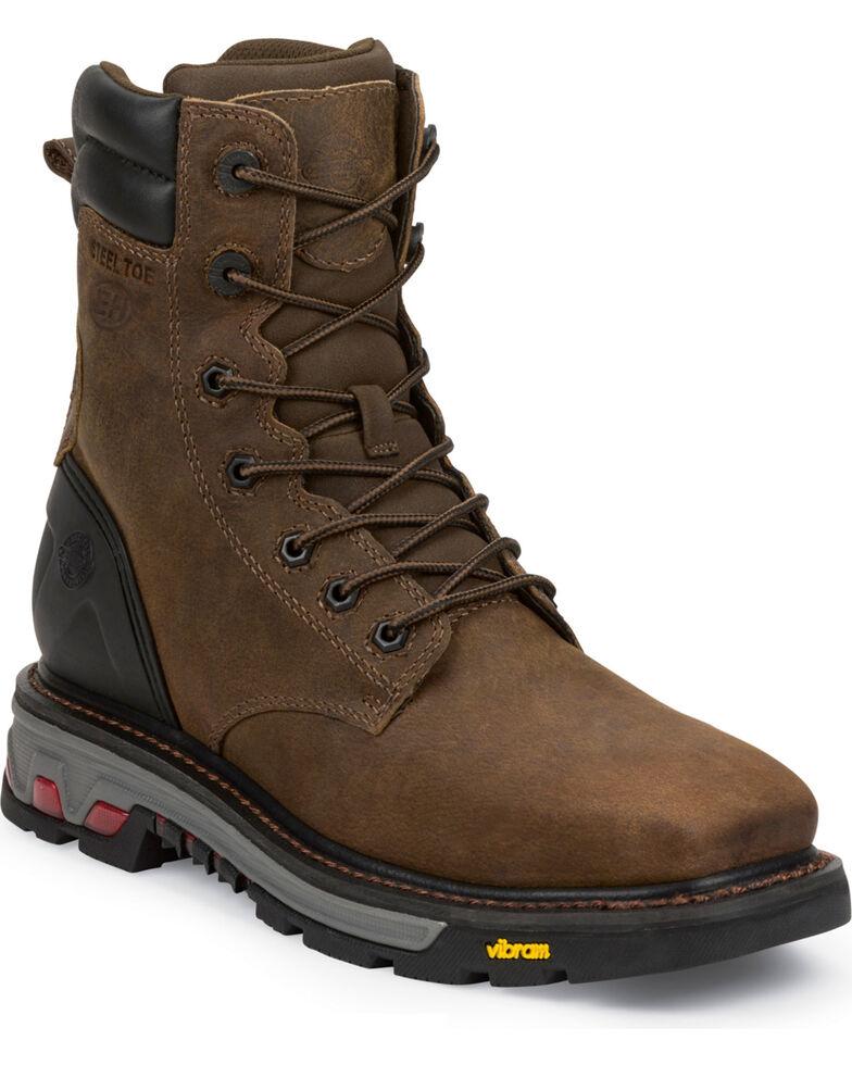 Justin Men's Commander X5 Work Boots, Timber, hi-res