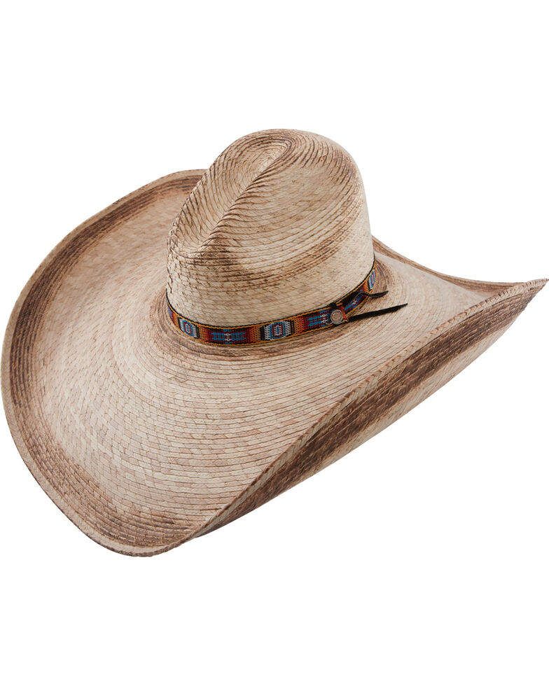 Charlie 1 Horse Women's Coyote Wide Brim Straw Hat, Natural, hi-res