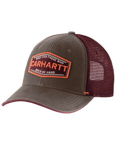Carhartt Men's Silvermine Cap , Coffee, hi-res