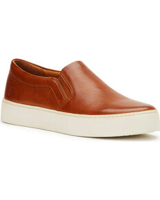 Frye Women's Lena Slip On Shoes , Cognac, hi-res
