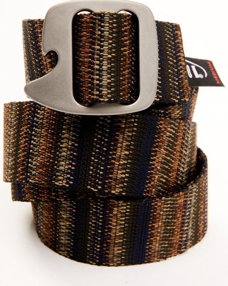 Bison Men's Tapcap Bottle Opener Buckle Belt, Multi, hi-res