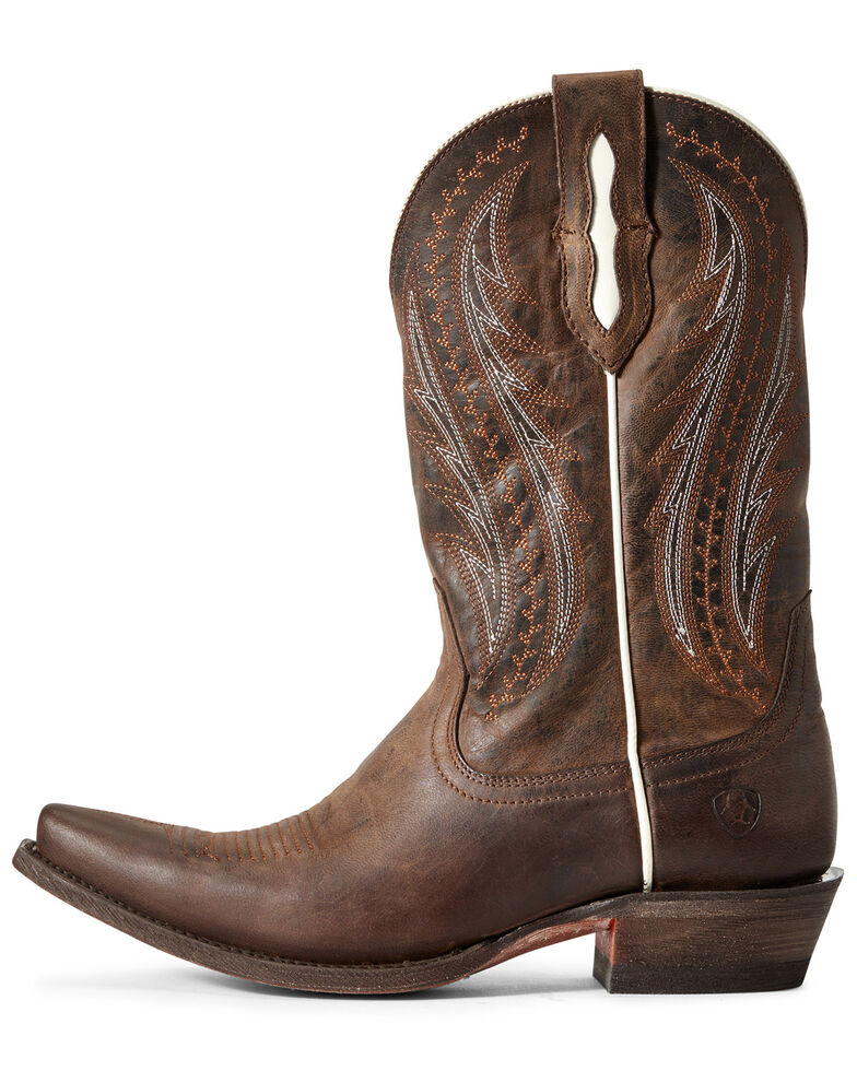 Ariat Women's Tailgate Rust Western Boots - Snip Toe, Brown, hi-res