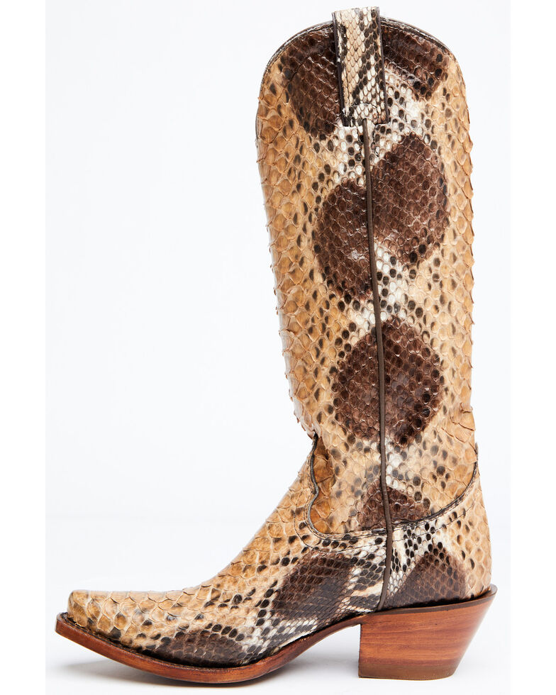 Idyllwind Women's Sensation Western Boots - Snip Toe, Brown, hi-res