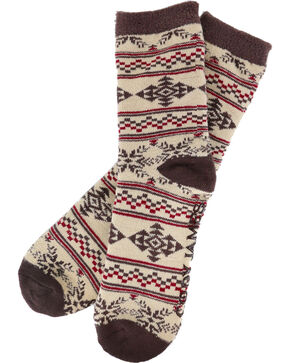 Cody James Men's Wild West Cozy Socks, Multi, hi-res