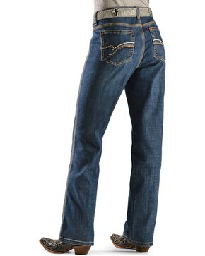 Aura by Wrangler Women's Slimming Stretch Jeans, Denim, hi-res
