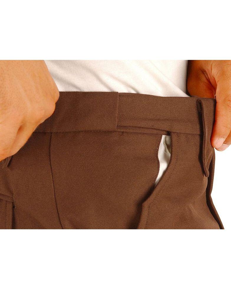 Circle S Men's Lubbock Xpand Pants, Chocolate, hi-res