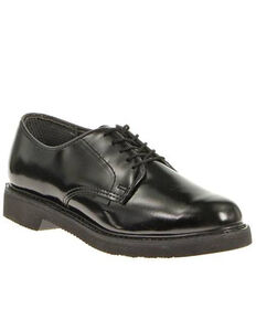 Bates Men's Lite Oxford Shoes - Round Toe, Black, hi-res