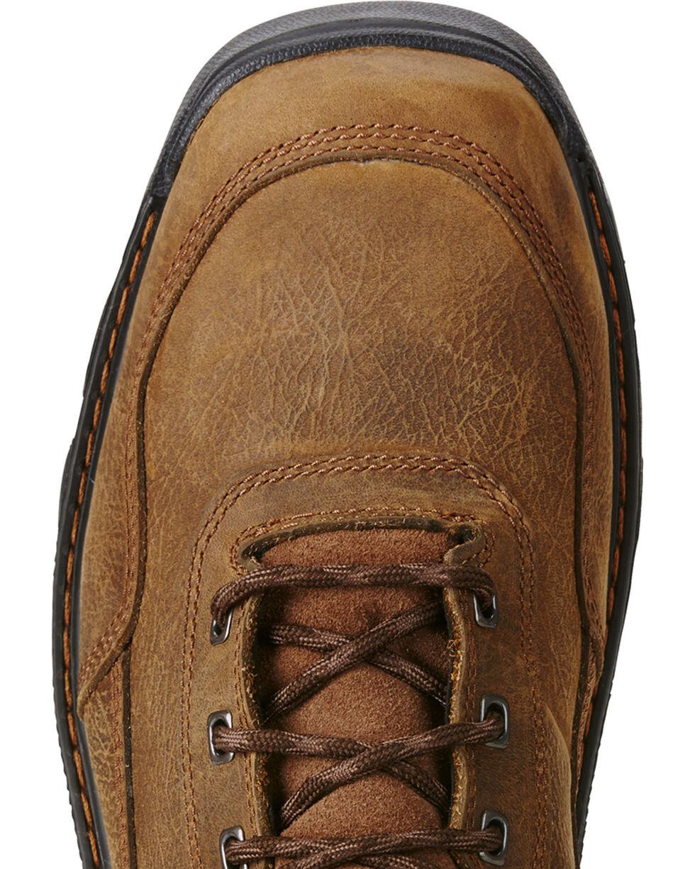 """Ariat Men's Intrepid 6"""" Waterproof Comp Toe Work Boots, Brown, hi-res"""
