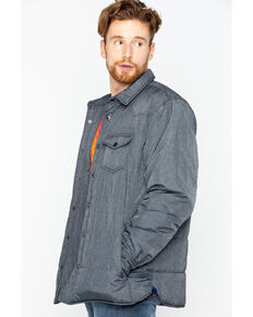 Cody James Men's Shirt Jacket, Black, hi-res