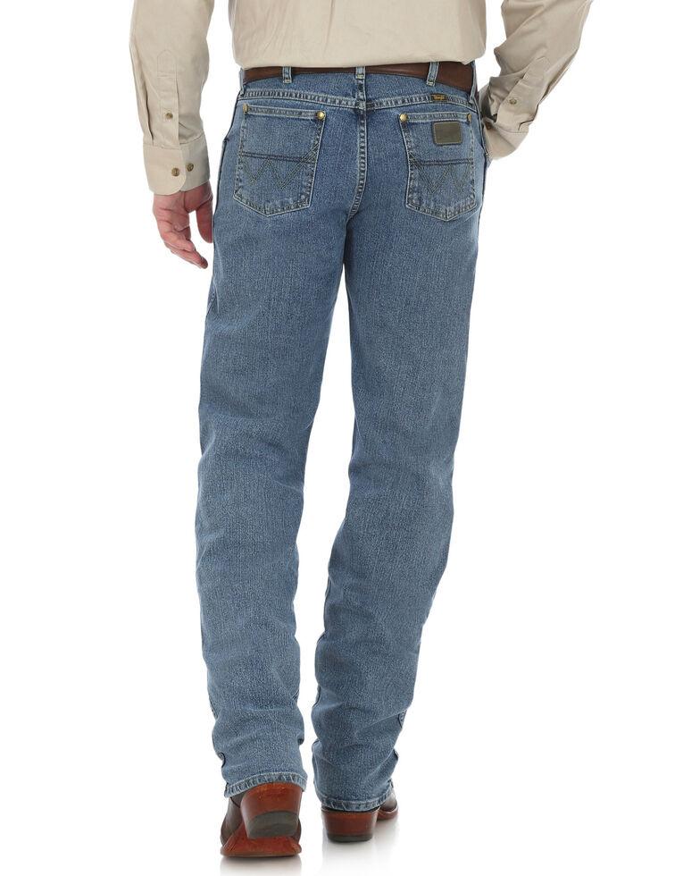 George Strait by Wrangler Men's Cowboy Cut Straight Leg Jeans - Tall , Blue, hi-res