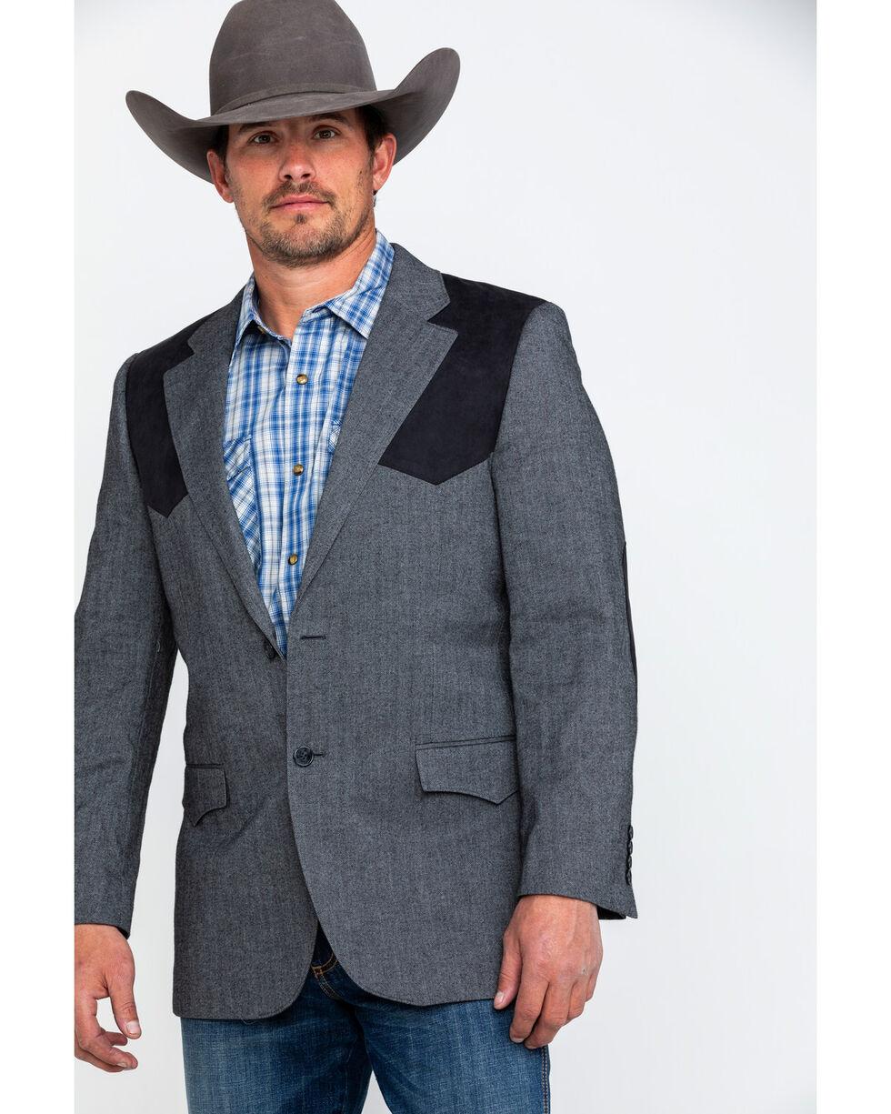Cody James Men's E Patch Button Front Sportcoat , , hi-res
