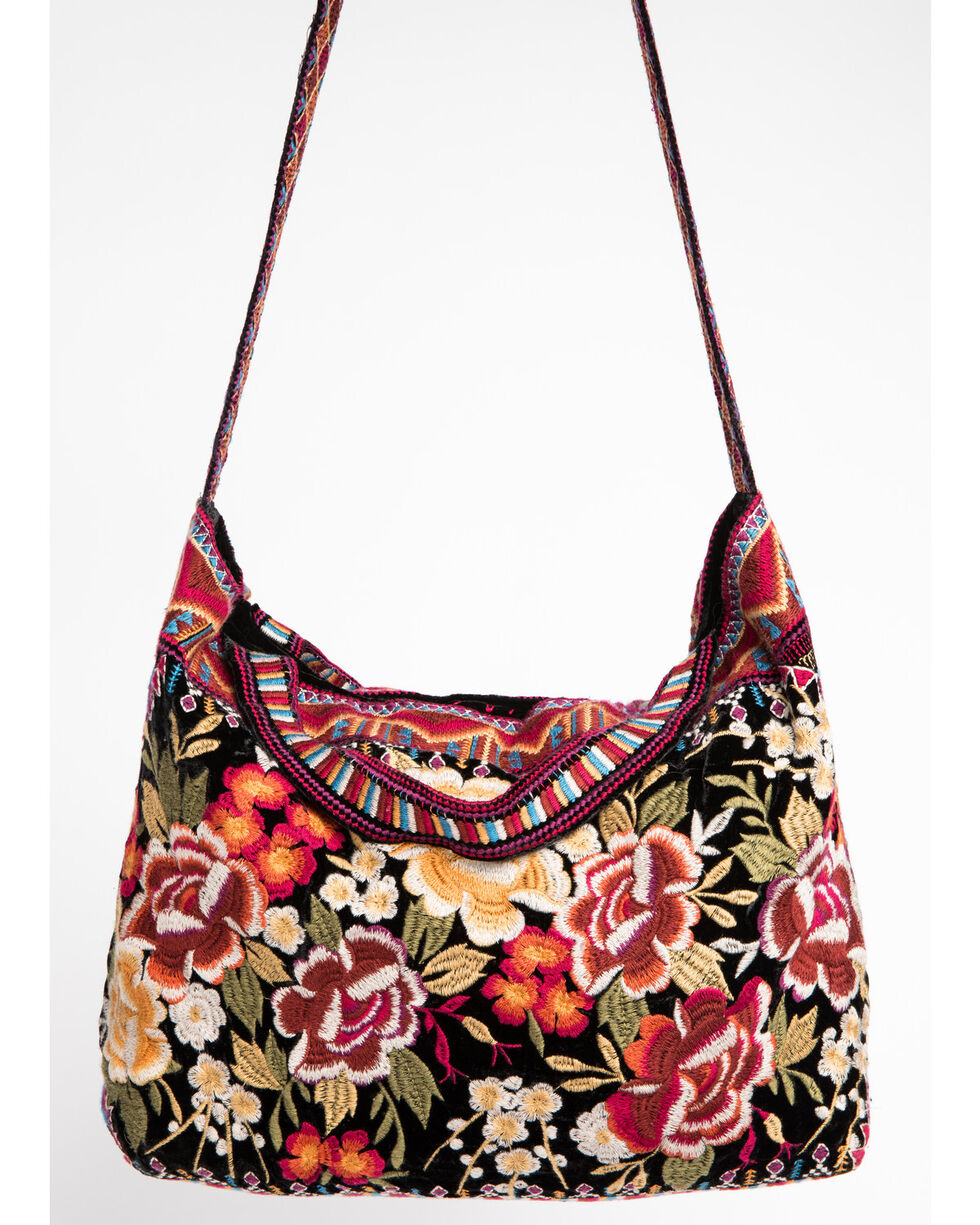 Johnny Was Women's Marjan Velvet Tote, , hi-res