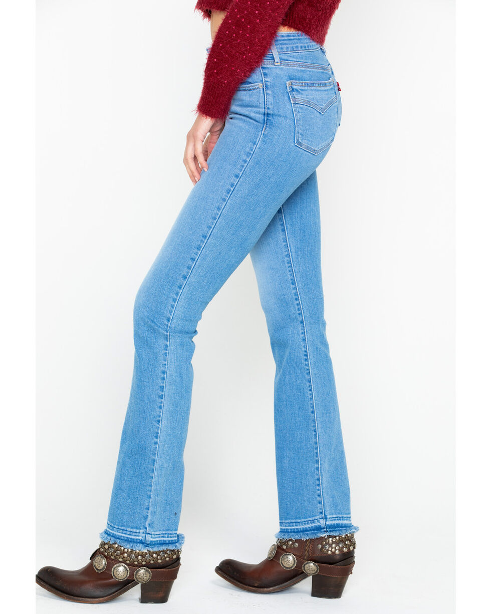 Levi's Women's 715 Vintage Boot Cut Jeans, Blue, hi-res
