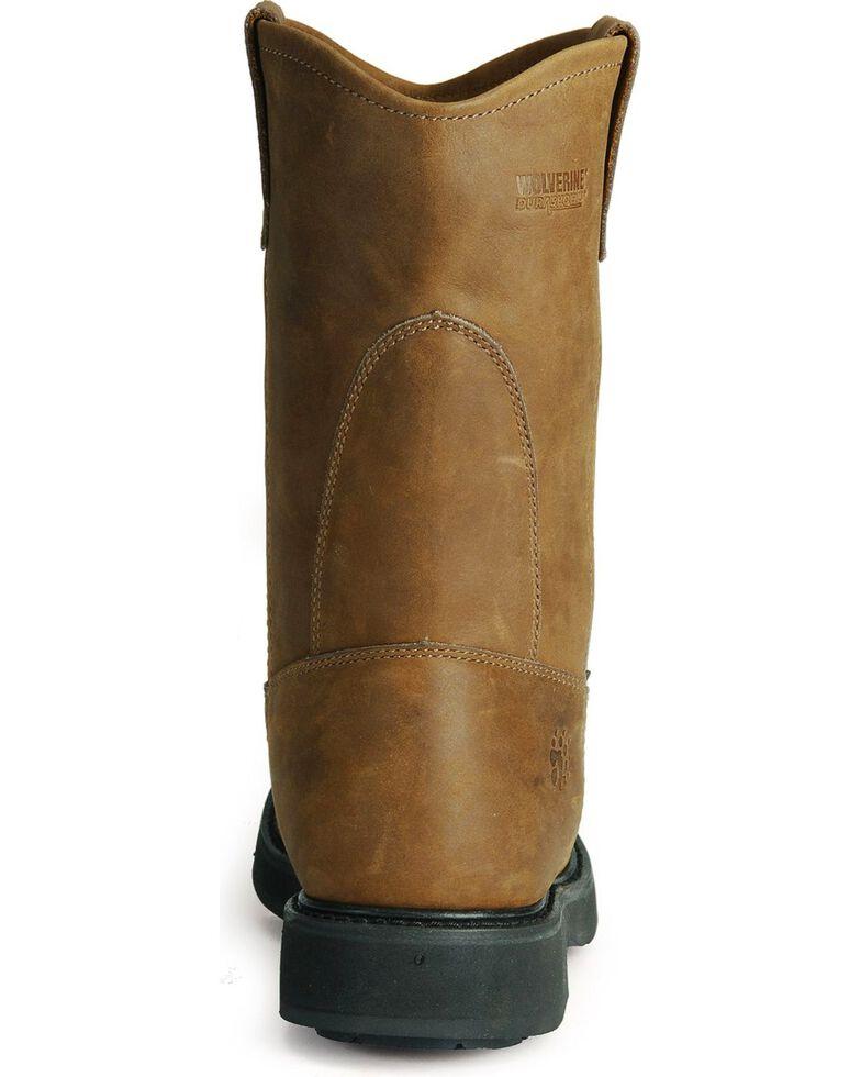 Wolverine Men's Ingham DuraShocks Work Boots, Dark Brown, hi-res