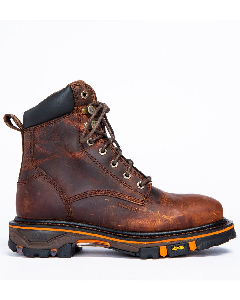 Cody James Men's Decimator Puncture Resisting Work Boots - Nano Composite Toe, Brown, hi-res