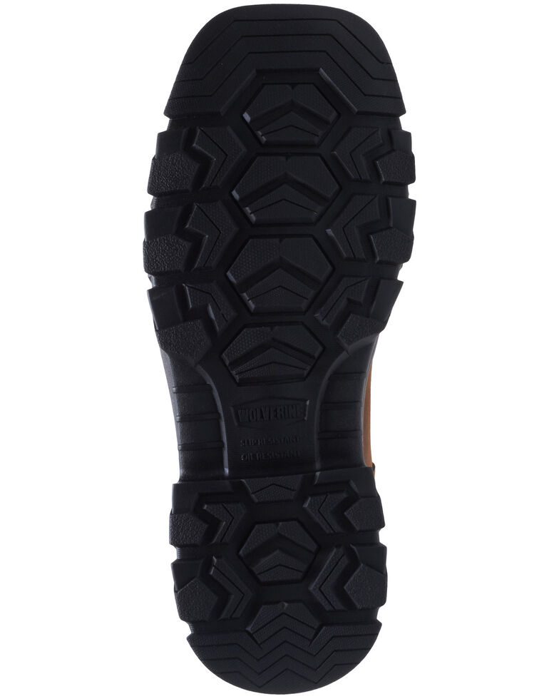 Wolverine Men's Tan Ranch King Western Work Boots - Soft Toe, Tan, hi-res